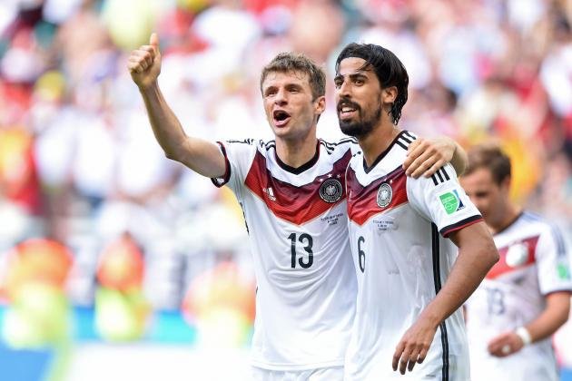 Germany vs. Ghana: Storylines to Watch in World Cup Group G Match