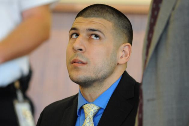 Aaron Hernandez Requests Transfer out of Bristol County Jail