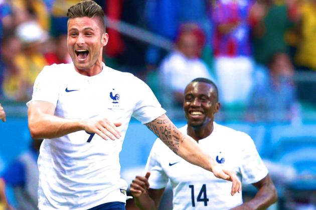 Olivier Giroud Justifies Place as France Destroy Swiss with Free-Flowing Attack