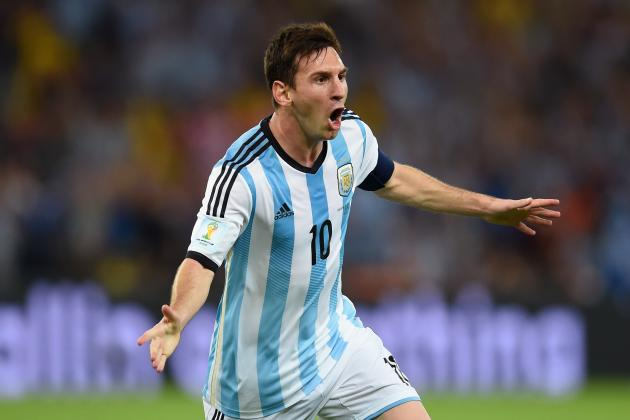 Argentina vs. Iran: Live Score, Highlights for World Cup 2014 Group F Game