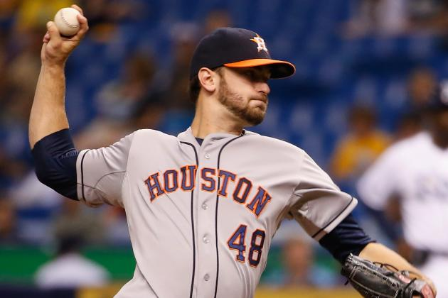 Cosart Beats Rays Again, Pitches Astros to 3-1 Win