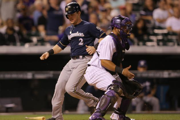Segura Homers Twice as Brewers Beat Rockies 13-10