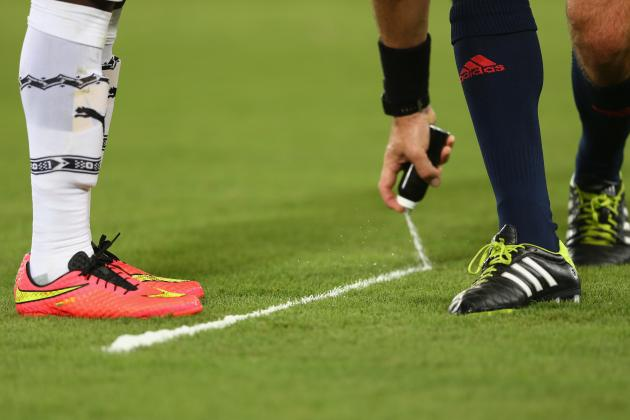 Vanishing Spray Is More Revolutionary Than Goal-Line Technology