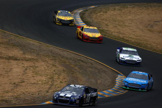 NASCAR at Sonoma 2014: Start Time, Lineup, TV Schedule and More