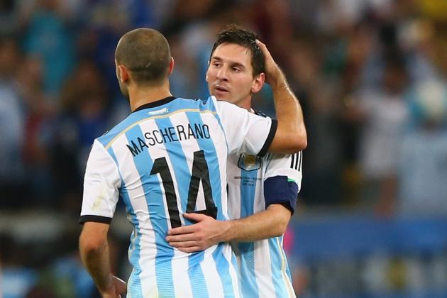 Argentina vs. Iran: Live Player Ratings