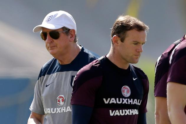 Individual Focus on Rooney, Hodgson Hides Real Reasons for England World Cup Woe