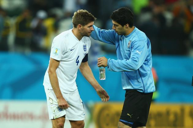 Liverpool's and England's Steven Gerrard Exposed at Yet Another World Cup