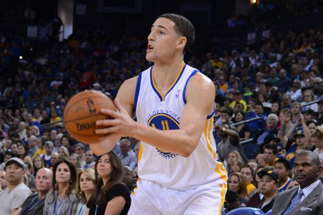 Report: LA Lakers Pursuing Klay Thompson in Trade for No. 7 Pick