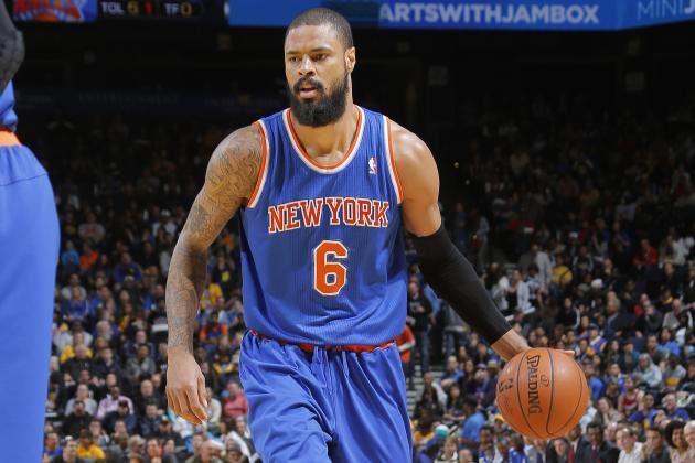 Report: Dubs Interested in Knicks' Chandler?