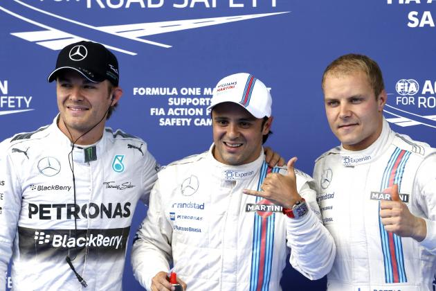 Williams Front Row at 2014 Austrian GP Should Not Mask Valtteri Bottas' Failure
