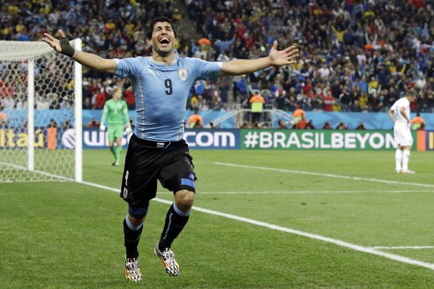 Luis Suarez Becomes 1st Uruguayan to Reach 40 International Goals