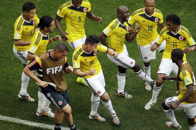 Colombia Wins 2 Games in Single World Cup for 1st Time
