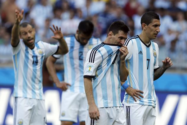 Why Angel Di Maria Is Under Most Pressure for Argentina Following Win vs. Iran