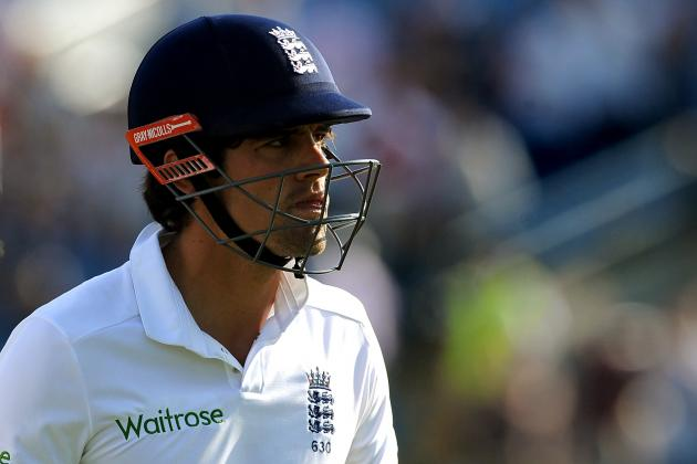 England Captain Alastair Cook's Annus Horribilis Continues at Headingley