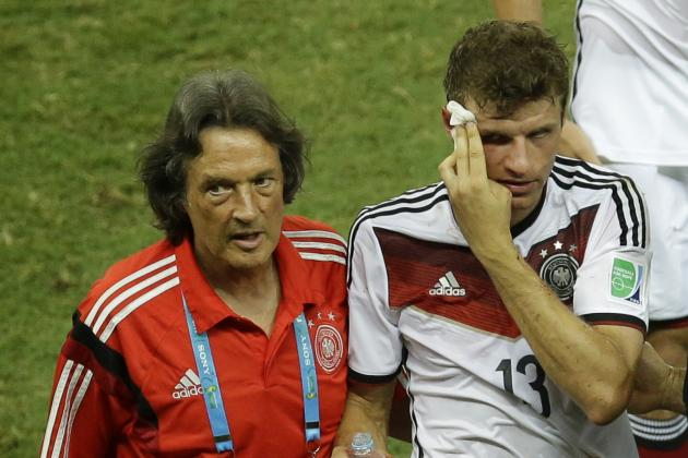 Thomas Muller Injury: Updates on Germany Star's Head and ...