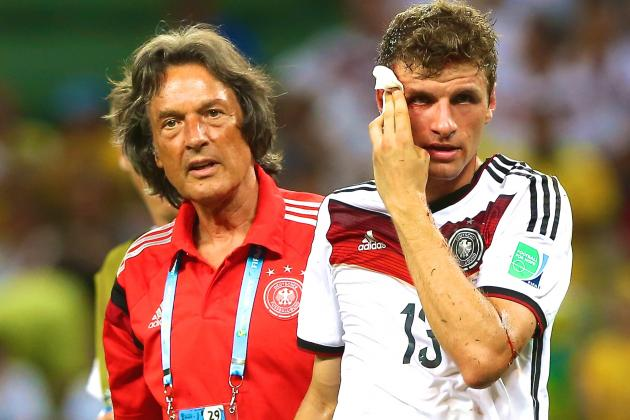 Thomas Muller Injury: Updates on Germany Star's Head and Return