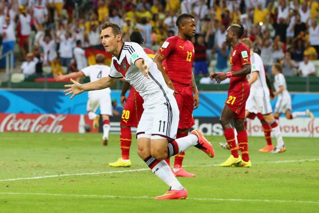 Twitter Reacts to Miroslav Klose, Mario Goetze's Performances vs. Ghana