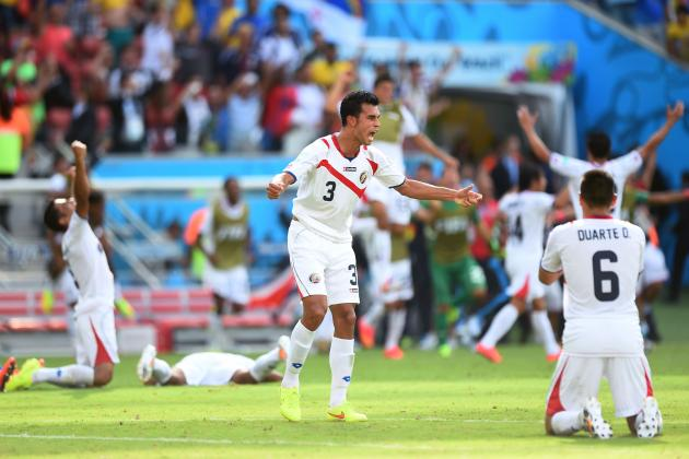 Costa Rica's World Cup Hopes High After Massive Win Against Italy