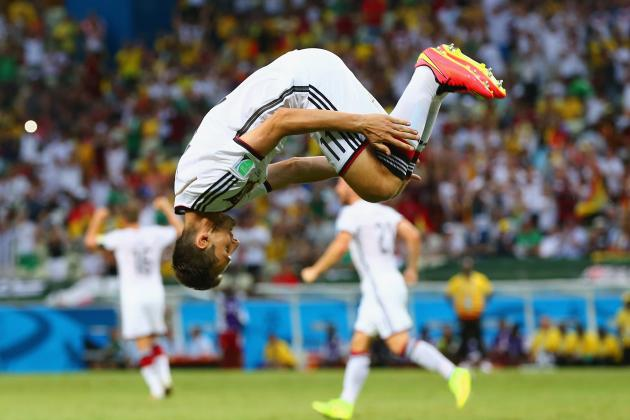 Miroslav Klose Equals Ronaldo Goal Mark on Record-Setting Day at World Cup