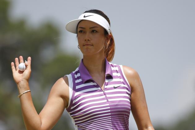 US Women's Open Golf Leaderboard 2014: Latest on Michelle Wie and Others
