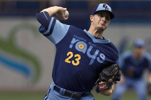 Odorizzi Dominates as Rays Beat Astros 8-0