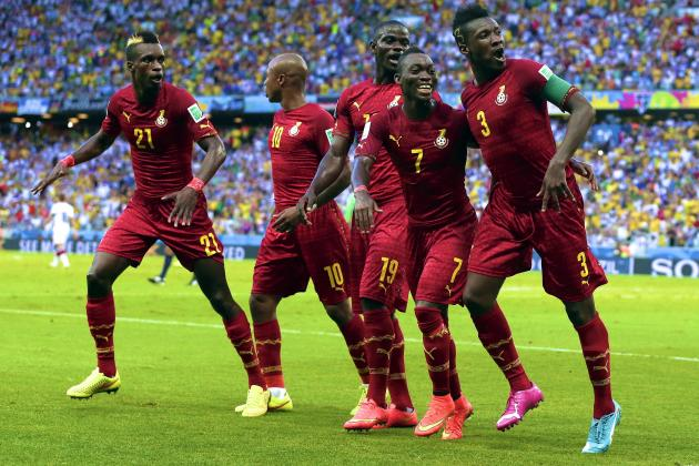 Ghana Show Frustrating Glimpses of True Potential in Thrilling Germany Draw