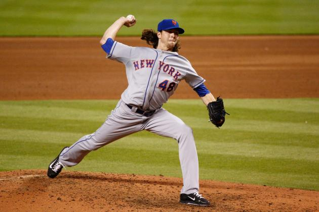 deGrom Reacts to First Major League Win