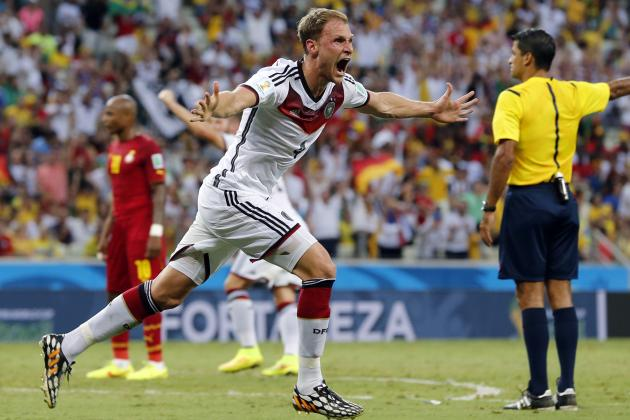 Germany's Miroslav Klose Ties Ronaldo's All-Time Record with 15th World Cup Goal