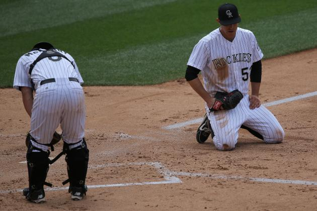 Rockies fall to Brewers for their fifth consecutive loss