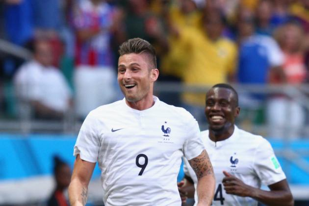 Didier Deschamps' Selection of Giroud Proves to Be a Masterstroke