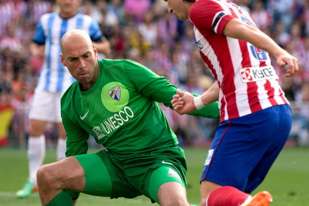 Manchester City 'Win Race to Sign Malaga Goalkeeper Willy Caballero'