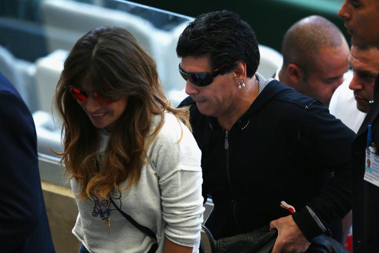 Diego Maradona Argentina's Jinx, Claims Julio Grondona, Diego Flips Him Bird
