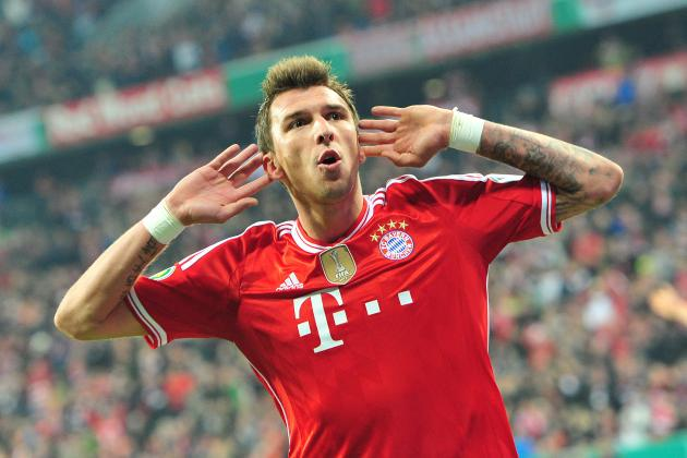 Arsenal Transfer News: Mario Mandzukic's Wolfsburg Dismissal Gives Gunners Hope