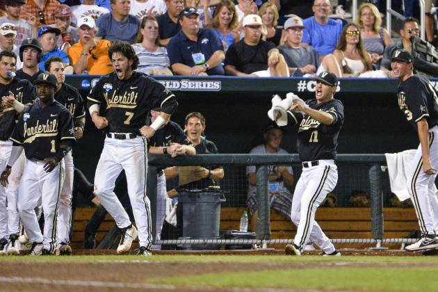 CWS 2014: Start Times, TV Schedule, Odds for Vanderbilt vs. UVA Finals