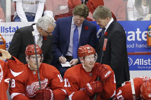 Detroit Red Wings Coaching Staff Needs to Start Looking Familiar