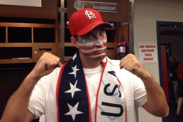 Adam Wainwright Is Seriously Pumped for the USA's World Cup Match vs. Portugal