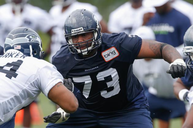 Most Heated Position Battle in Training Camp? Just Might Be Right Tackle