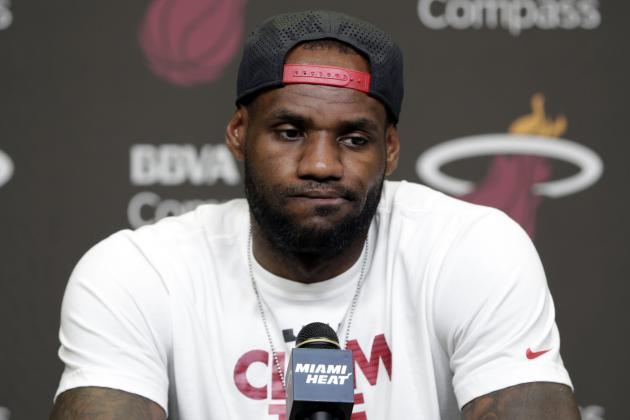NBA Rumors: Latest Buzz Surrounding LeBron James, Kevin Love and Carmelo Anthony