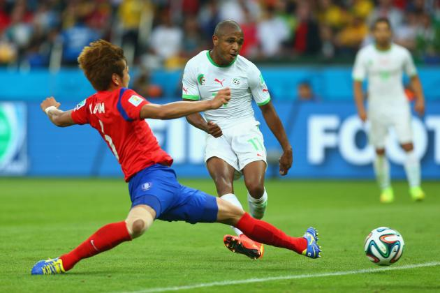 South Korea vs. Algeria: Halilhodzic's Brahimi Gamble Pays off in Goal Blitz