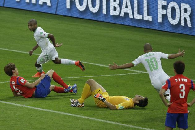 South Korea vs. Algeria: Goals and Highlights from Group H Match