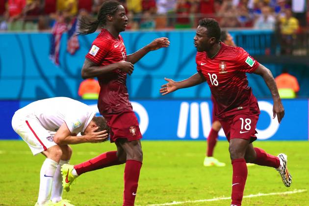 USA vs. Portugal: Live Score, Highlights for World Cup Group G Game