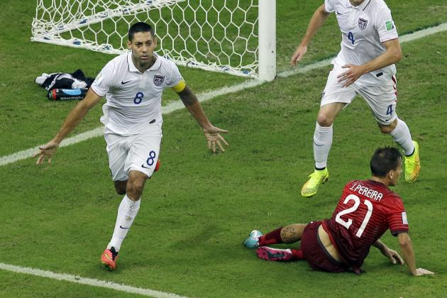 Twitter Reacts to Clint Dempsey, Jermaine Jones' Performances vs. Portugal
