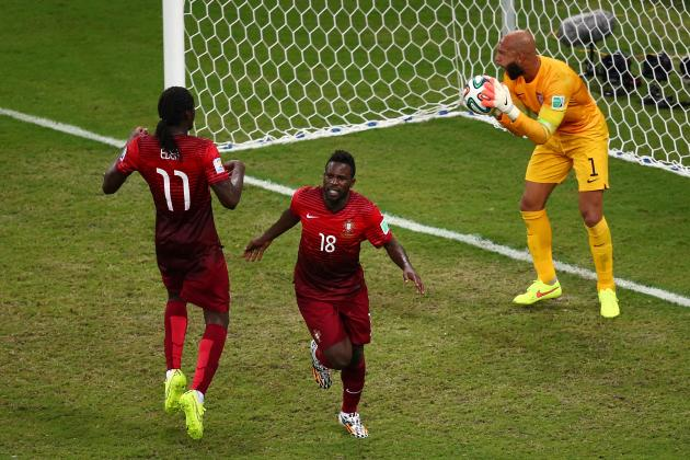 2014 World Cup: Late Varela Goal Saves Portugal for 2nd Tournament Running