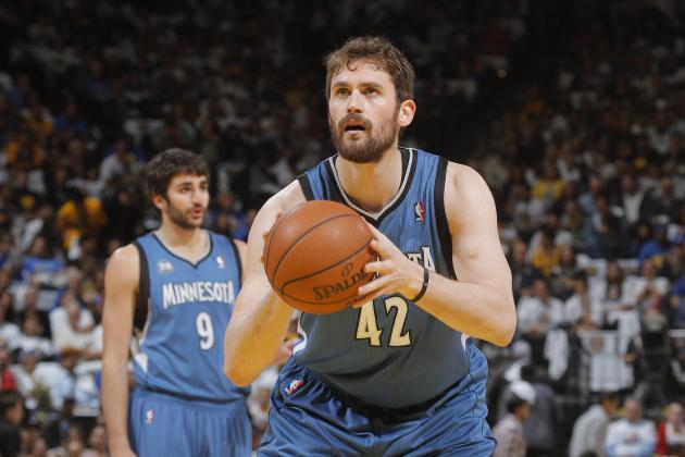 Do Lakers Have a Prayer at Acquiring Kevin Love?