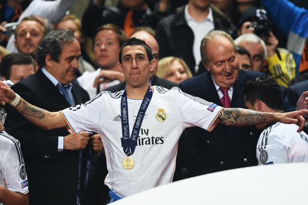 Arsenal Transfer News: Angel Di Maria Admits Real Madrid Future Is Uncertain