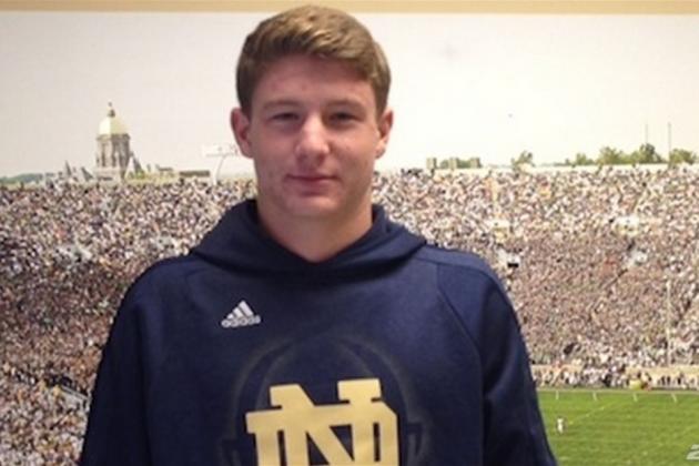 QB Loss Drops Notre Dame's Rank