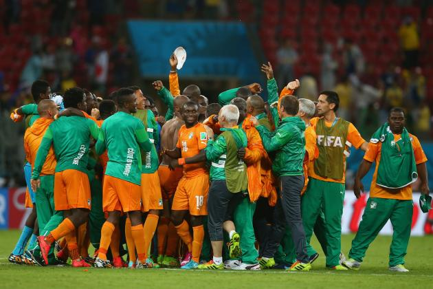 Greece vs. Ivory Coast: Date, Time, Live Stream, TV Info, 2014 World Cup Preview