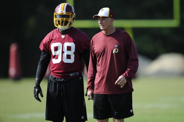 Jim Haslett Thinks This Year's Defense Has a Lot of Potential
