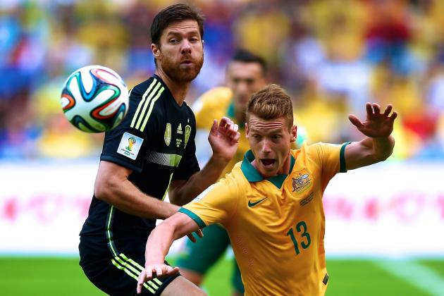 Australia vs. Spain: Live Score, Highlights for World Cup 2014 Group B Game