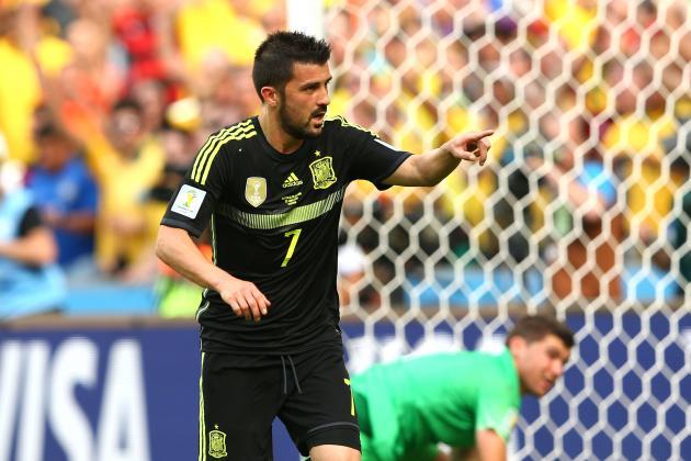 Australia vs. Spain: Live Player Ratings